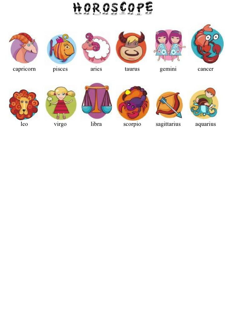 Horoskop na engleskom